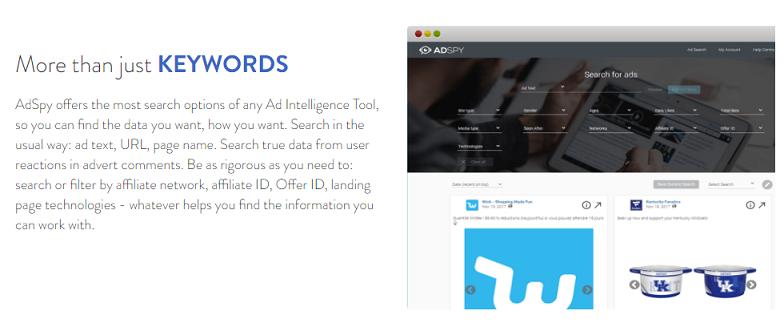adspy keywords