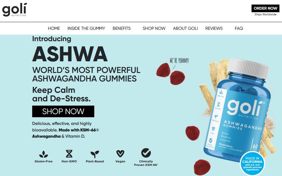Goli Ashwa Gummies Review